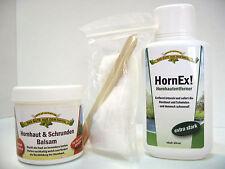 HornEx!-Hornhautentferner  + Hornhaut & Schrunden Balsam im Set  - 450ml
