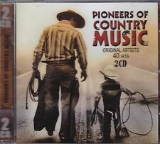PIONEERS OF COUNTRY MUSIC - VARIOUS ARTISTS on 2 CD's -  NEW -