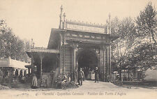 MARSEILLE exposition coloniale 1922 41 pavillon forêts d'ALGERIE photo lacour