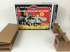 replacement Vintage Star Wars Empire strikes back millennium falcon box +inserts