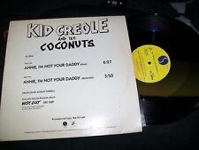 "Kid Creole & The Coconuts-Annie, I'm-12""-Sire-Promo-VG+"
