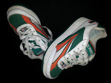 MIAMI DOLPHINS NFL Reebok Fashion Sneakers Tennis Shoes Size 7 Mens Womens