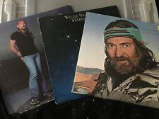 Willie Nelson Lot Of 3 Vinyl Records Stardust Rainbow Always On My Mind