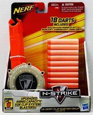 Brand New NERF N-Strike 18 DART CLIP SYSTEM DRUM Upgrade Kit For Blasters