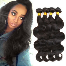 Indian Virgin Hair Body Wave 4 Bundles Cheap 7A Human Hair Weave Cheap 400g