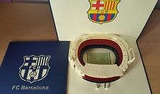 3D Handmade Pop up Barcelona Stadium Greeting Card. For all Occasions