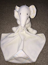 M&S MARKS & SPENCER SNUGGLE BLANKET COMFORTER ELEPHANT CREAM CUTE CIRCLES