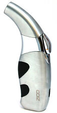 "4.5"" Zico T-38 (ORIGINAL) Refillable Butane Torch Lighter Silver"