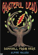 The Grateful Dead - Downhill From Here, Very Good DVD, Jerry Garcia, Grateful De