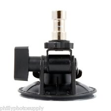 Delkin Fat Gecko Stealth Vacuum Light Mount  Holds 4 LB -  Free US Shipping