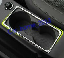 stainless steel Car Water Cup holder cover trim For Skoda Octavia MK3 A7 2015