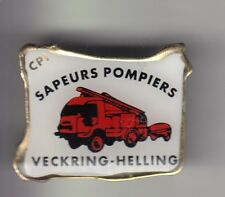 RARE PINS PIN'S .. POMPIER FIRE CAMION TRUCK RENAULT OLD ECHELLE VECKRING 57 ~CZ