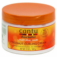 Cantu Shea Butter for Natural Hair Coconut Curling Cream 12 oz