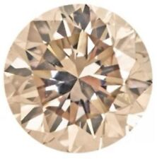 .065ctw 4 Natural Loose Brilliant Round Diamonds Lot Melee I1 Cognac 1.5mm Obo
