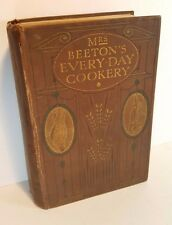 MRS BEETON'S EVERYDAY COOKERY NEW EDITION COLOURED PLATES 1909 WARD LOCK & CO