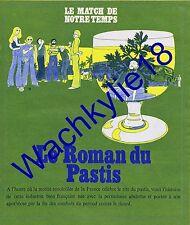 Paris Match n°1317 - 03/08/1974 Chypre Le roman du pastis Absinthe Pernod Ricard