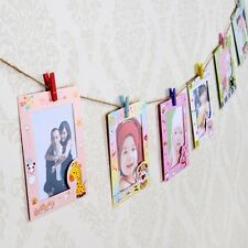 Stylish Cartoon Photo Frame Kids Room Cute Hanging Paper Picture Album Gallery