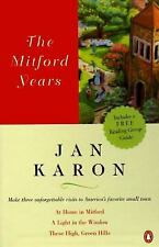 NEW The Mitford Years Boxed Set 3 Vol; At Home in Mitford by Jan Karon + window