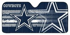 Dallas Cowboys Auto Sun Shade [NEW] NFL Car Truck Window Reflective Cover 59x27