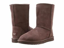 UGG Australia Classic Short Slip On Boots 5825 CHOCOLATE - Women's Size 6