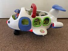 Fisher Price Little People Aeroplane And 3 Figures Lights And Sounds