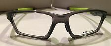 Oakley Authentic Eyeglass Crosslink Sweep OX8033-55  Grey Smoke Green Temps