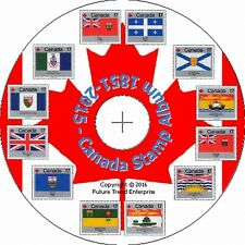 CANADA Stamp Album Pages on CD 1851-2015 - FREE Postage