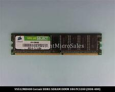 Corsair VS512MB400 DDR 512MB PC-3200 Non ECC 400Mhz RAM Memory