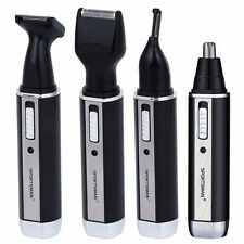 Rechargeable Electric Shaver Razor Beard Hair Clipper Nose Ear Trimmer set