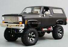 1/10 Radio Control CUSTOM All Metal CHEVY BLAZER K5 RC Truck 2-SPEED 4WD  Black