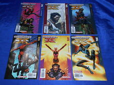 Ultimate X-Men (2001) #34-45 Complete Blockbuster & New Mutants Stories NM-