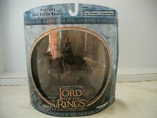 Lord of the Rings LOTR AOME Warriors and Battle Beasts King Theoden on Hors MISB