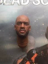"Art figures mort soldat deadshot 12"" will smith head sculpt loose échelle 1/6th"