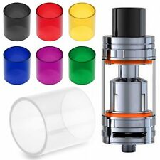Replacement Glass Tube Pipe Fr SMOK TFV8 Cloud Beast Subohm Atomizerr Tank New