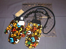 2011 A BATHING APE BAPE BABY MILO CHOCOOLATE BABYMILO PRINTED GLOVES Original