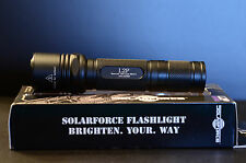 Solarforce L2P LED Flashlight - PflexPro 3.8A 1250 OTF LM XP-L XPL V5 2A Drop In
