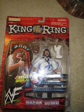 WWE MANKIND KING OF THE RING AUTOGRAPHED FIGURE WITH SOCKO FACEMASK RARE