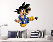 Goku babe Dragon Ball Z Wall Decal Animation Anime Sticker Decor Vinyl HD - Kids