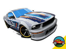 Hot Wheels Cars - '07 Ford Mustang Silver