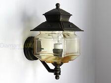 Applique lampada parete lanterna classica alluminio esterno