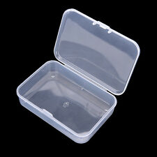 Clear Plastic Transparent With Lid Storage Box Collection Container Case SK