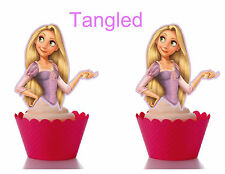 Tangled(Rapunzel) Cupcake toppers
