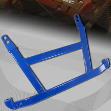 For 1994-2001 Acura Integra 2DR Blue 4-Point H-Brace Aluminum Front Lower Bar