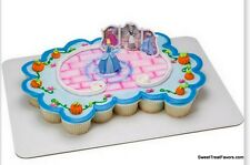 Cinderella PRINCESS Cake Topper Decoration Party Kit Birthday Cupcakes Favors NW