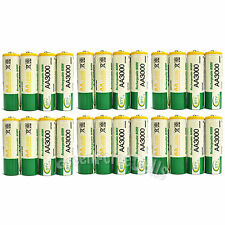 24  pcs AA 3000mAh Ni-Mh 1.2V rechargeable battery Cell for MP3 RC BTY US Stock