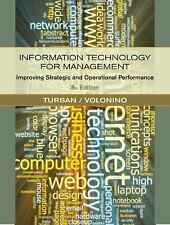 Information Technology for Management : Improving Strategic and Operational...