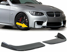 Universal FIT CARBON FIBER FRONT SPOILER FRONT FLAPS CUP WINGS spliter