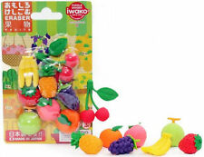 Iwako Japanese Eraser Blister Set - Fruits Assortment