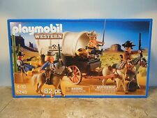 PLAYMOBIL #5248 WESTERN COVERED WAGON BANDITS  *NEW*