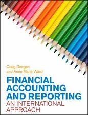 Financial Accounting and Reporting: An International Approach, Very Good Conditi